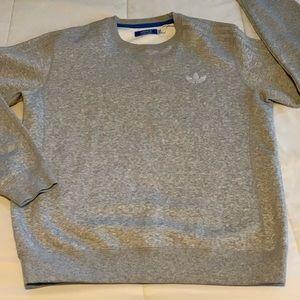 Men's Grey adidas sweatshirt